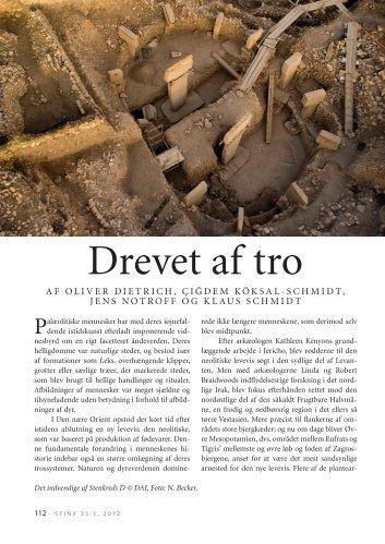 Drevet af tro - Tidsskriftet SFINX