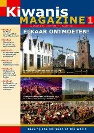 1 magazine - Kiwanis International District Nederland