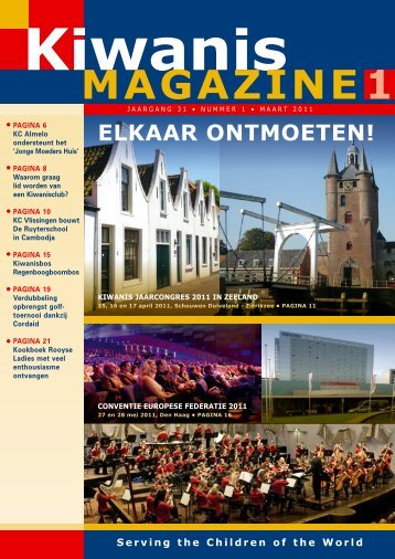 1 magazine - Kiwanis International District Nederland