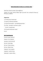 referat af bestyrelsesmøde afholdt den 12. februar 2013