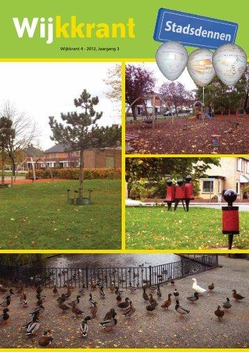 wijkkrant november 2012 - ZorgDat | support in welzijn