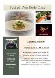 Download menukortet til udskrift her - Restaurant Den Røde Okse