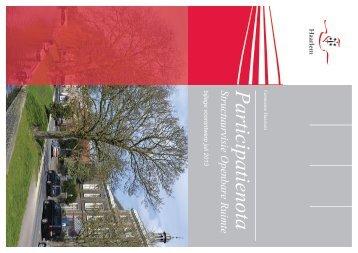 Participatienota - Structuurvisie Openbare Ruimte Haarlem