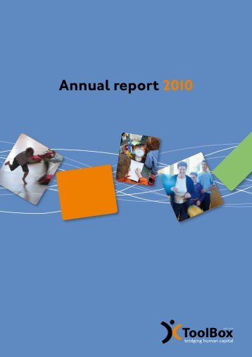 Annual report 2010 - ToolBox
