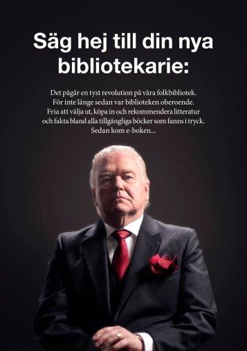 Säg hej till din nya bibliotekarie: - Svensk Biblioteksförening