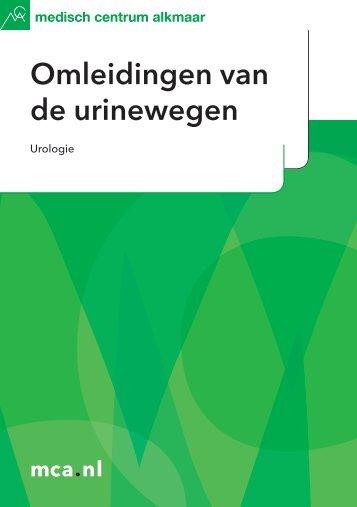 Omleidingen van de urinewegen - Mca