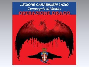 Presentazione Operazione Drago - OnTuscia.it