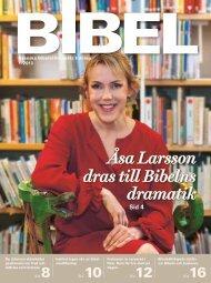Nummer 1 2013 - Svenska Bibelsällskapet