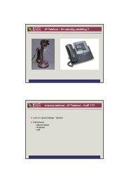 Introduktion til IP telefoni I
