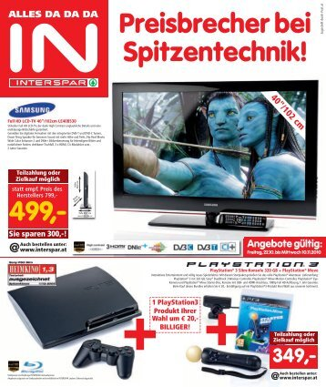 Preisbrecher Bei Spitzentechnik! - INTERSPAR
