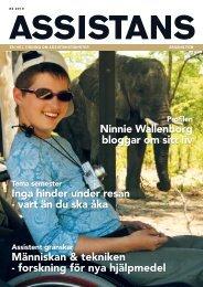 Ninnie Wallenborg bloggar om sitt liv Människan & tekniken ...