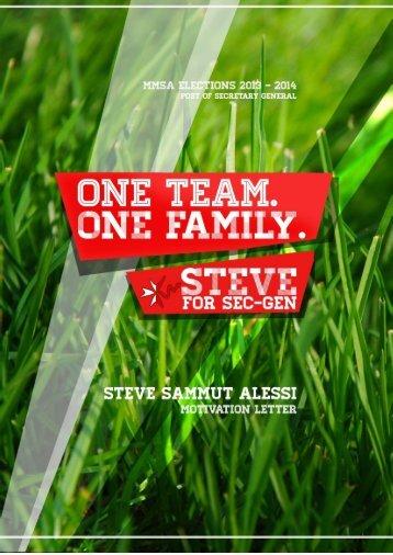 Steve Sammut Alessi - MMSA