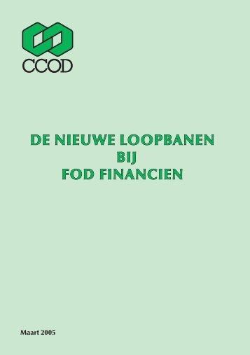 de nieuwe loopbanen bij fod financien - ACV Openbare Diensten