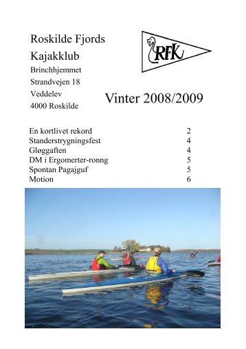 Vinter 2008/09 - Roskilde Kajakklub