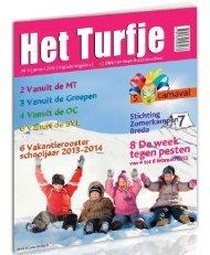 Turfje januari 2013 - Nutsschool Dirk van Veen