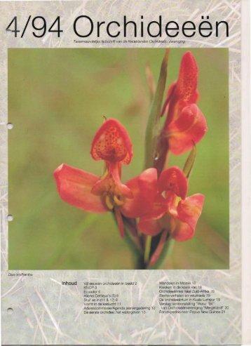 1994 - 4 - Orchideeën Vereniging Vlaanderen
