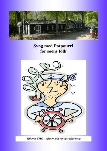 Syng med Potpourri for søens folk - Silkeborg Motorbåd Klub