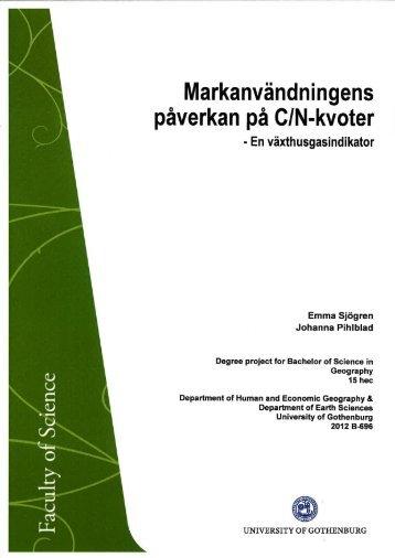 B696 - Institutionen för geovetenskaper - Göteborgs universitet