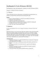 Handlingsplan Norske 4H-alumner 2006-2010 (PDF)