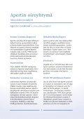 Apertin oireyhtymä - Kallon-ja kasvonluiden kasvuhäiriötä ... - Page 5