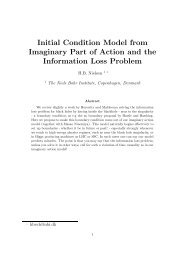 Initial Condition Model from Imaginary Part of Action and the ...