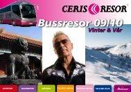 Bussresor 09/10 - Ceris Resor