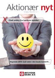 Glad smiley fra bankens kunder...