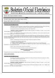 16/04/2013 à 31/04/2013. - Prefeitura Municipal da Estância de ...