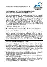 Infoblatts über den Küvettentransport - DWA Bayern