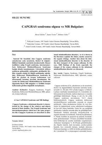 capgras essay