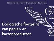 Optimalisatie van je keten in model brengen - Kenniscentrum Papier ...