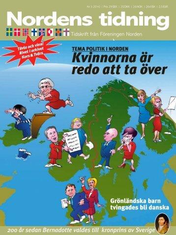 Nordens Tidning nr 3 2010 - Föreningen Norden