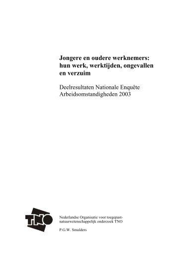 Jongere en oudere werknemers - Leeftijd op het werk