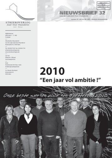 okt-nov-dec 2009 - Streekoverleg Zuid-Oost-Vlaanderen