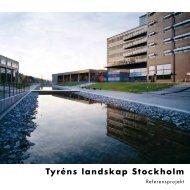 Tyréns landskap Stockholm