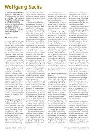 Wolfgang Sachs og økologiens globale dimension