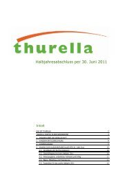 Halbjahresabschluss per 30. Juni 2011