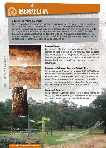 Arte rupestre levantino [descargar] [ver] - Paisajes de la Celtiberia