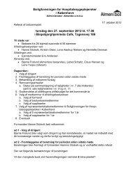Referat 27. september 2012 Ordinært afdelingsmøde - Almenbo