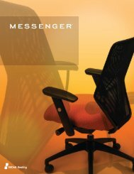 Messenger Brochure - Sit On It Seating