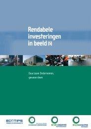 Rendabele investeringen in beeld (5) - POM West-Vlaanderen