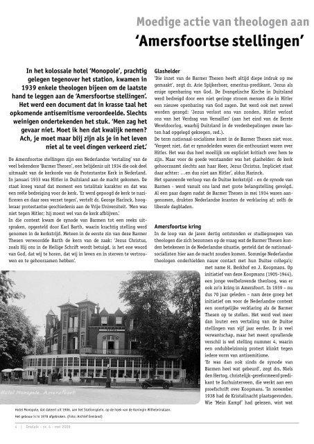 mei 2009 - Protestantse Gemeente Amersfoort