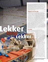Lees meer... - Hilgenkamp Food Machinery BV