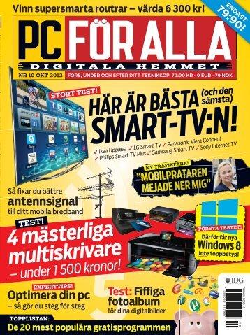 HÄR ÄR BÄSTA SMART-TV:N! - IDG.se