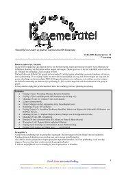 Boemeratel nr.34, 11-06-09 - Xpect Primair