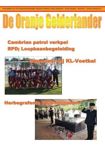 Nummer 6 - 45 PAINFBAT Oranje Gelderland