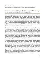 Kooperation Hans.Reinhardt-Schule - Gesamtschule Eiserfeld