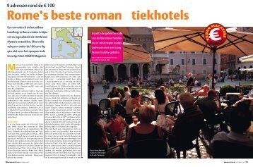 RE0510 Rome Budget.indd - REIZEN Magazine