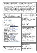Krudtslam Nr. 1-2006 - Forbundet Af Danske Sortkrudtskytteforeninger - Page 2