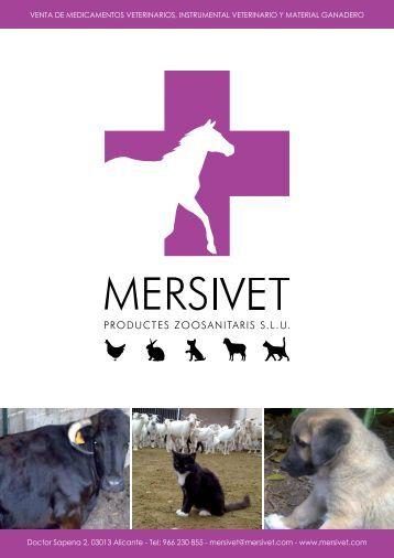 Pincha aquí para ver el catálogo de productos Mersivet en formato ...